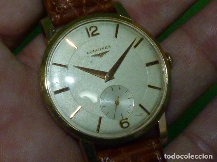 Relojes - Longines: PRECIOSO LONGINES CALIBRE 12.68Z CARGA MANUAL 17 rubis GRANDE AÑOS 50 - Foto 2 - 222578988