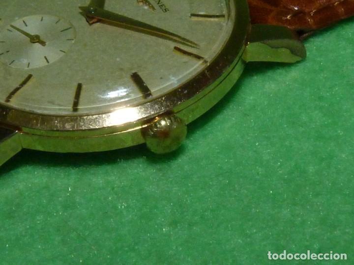 Relojes - Longines: PRECIOSO LONGINES CALIBRE 12.68Z CARGA MANUAL 17 rubis GRANDE AÑOS 50 - Foto 3 - 222578988