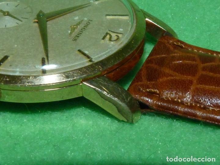 Relojes - Longines: PRECIOSO LONGINES CALIBRE 12.68Z CARGA MANUAL 17 rubis GRANDE AÑOS 50 - Foto 5 - 222578988