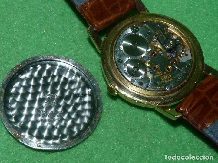Relojes - Longines: PRECIOSO LONGINES CALIBRE 12.68Z CARGA MANUAL 17 rubis GRANDE AÑOS 50 - Foto 6 - 222578988