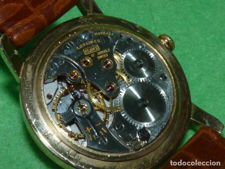 Relojes - Longines: PRECIOSO LONGINES CALIBRE 12.68Z CARGA MANUAL 17 rubis GRANDE AÑOS 50 - Foto 7 - 222578988