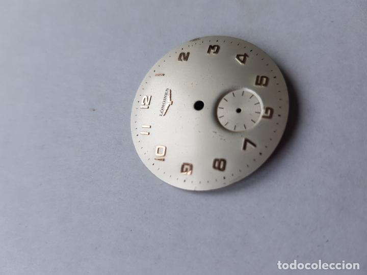 Relojes - Longines: ESFERA LONGINES PARA RELOJ MECANICO ANTIGUO PULSERA MUY BUEN ESTADO 29.5MM - Foto 4 - 223000752