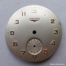 Relojes - Longines: ESFERA LONGINES PARA RELOJ MECANICO ANTIGUO PULSERA MUY BUEN ESTADO 29.5MM. Lote 223000752