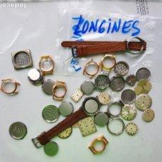 Relojes - Longines: LOTE DE PIEZAS CAJAS ESFERAS LONGINES C10. Lote 223984433