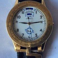 Relojes - Longines: LONGINES ,EPHEMERIDES SOLAIRES ,CAJA EN ORO ,SOLO 200 EJEMPLARES, EDICIÓN LIMITADA. Lote 224928947
