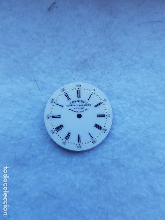 Relojes - Longines: LONGINES DE CUERVO Y SOBRINOS UNICOS IMPORTADORES ESMALTE PERFECTO ESTADO - Foto 6 - 225303775