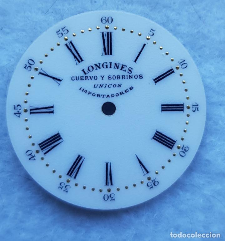 Relojes - Longines: LONGINES DE CUERVO Y SOBRINOS UNICOS IMPORTADORES ESMALTE PERFECTO ESTADO - Foto 7 - 225303775