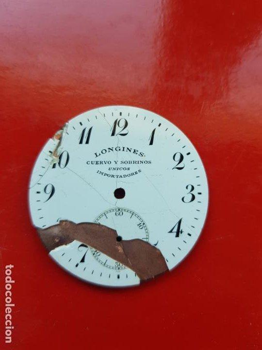Relojes - Longines: LONGINES DE CUERVO Y SOBRINOS UNICOS IMPORTADORES HABANA 39MM - Foto 3 - 225304095