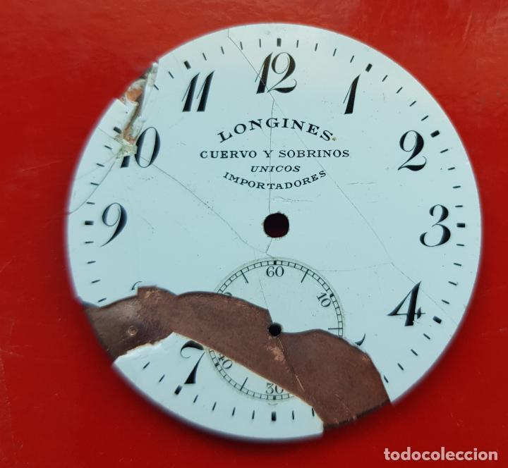 LONGINES DE CUERVO Y SOBRINOS UNICOS IMPORTADORES HABANA 39MM (Relojes - Relojes Actuales - Longines)