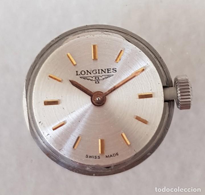 Relojes - Longines: LONGINES MECANICO DE DAMA TIPO COCKTAIL ACERO CORREA FIXOFLEX FUNCIONANDO CASI ESTRENO - Foto 8 - 234959590