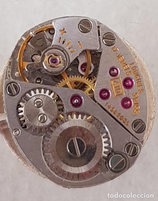 Relojes - Longines: LONGINES MECANICO DE DAMA TIPO COCKTAIL ACERO CORREA FIXOFLEX FUNCIONANDO CASI ESTRENO - Foto 10 - 234959590