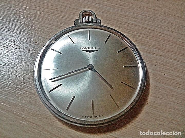 RELOJ BOLSILLO LONGINES EXTRAPLANO. (Relojes - Relojes Actuales - Longines)