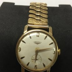 Relojes - Longines: RELOJ LONGINES CALIBRE 12.68Z CARGA MANUAL 17 RUBIS GRANDE AÑOS 50. Lote 239455435
