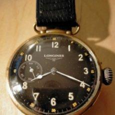Relojes - Longines: RELOJ DE PULSERA LONGINES MILITARY ANTIGUO DE 1909 A 1938. Lote 245475310