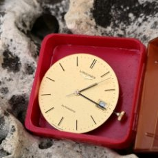 Relojes - Longines: ✈️C2/2 MAQUINARIA LONGINES VINTAGE 633 1 AUTOMATIC FUNCIONANDO. Lote 246482015
