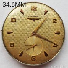 Relojes - Longines: LONGINES CALIBRE 27 O + ESFERA JUMBO GRANDE 34.6MM TOTAL ANDA Y PARA. Lote 252331155