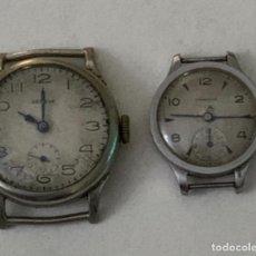 Relojes - Longines: DOS RELOJES DE SEÑORA - GENEVE - LONGINES - SIN FUNCIONAR. Lote 259713680