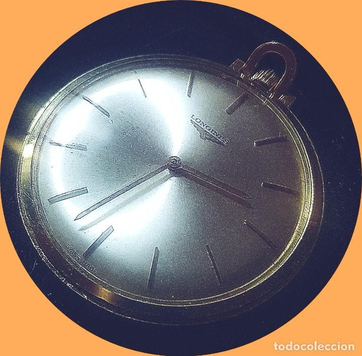 ORO MACIZO 18 K. LONGINES (Relojes - Relojes Actuales - Longines)