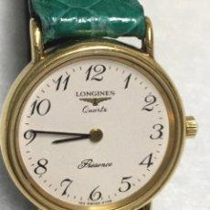 Relojes - Longines: LONGINES SWISS PRÉSENCE ORIGINAL SEÑORA 153-6798. BAÑADO EN ORO.. Lote 266387618
