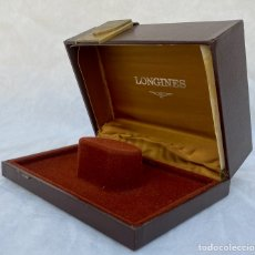 Relojes - Longines: LONGINES. ESTUCHE RELOJ LONGINES ANTIGUO. Lote 267286179