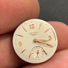Relojes - Longines: MOVIMIENTO, MAQUINARIA RELOJ LONGINES 19.4 CARGA MANUAL. Lote 267337964