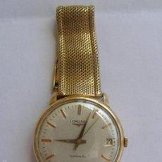 Relojes - Longines: RELOJ LONGINES AUTOMÁTICO. ORO 18 K. 1950. Lote 268456354