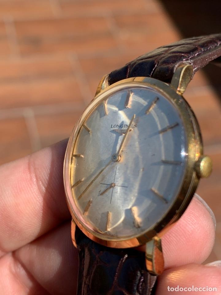 Relojes - Longines: Longines vintage 1965 cuerda manual oro para hombre funcionando - Foto 6 - 274125028