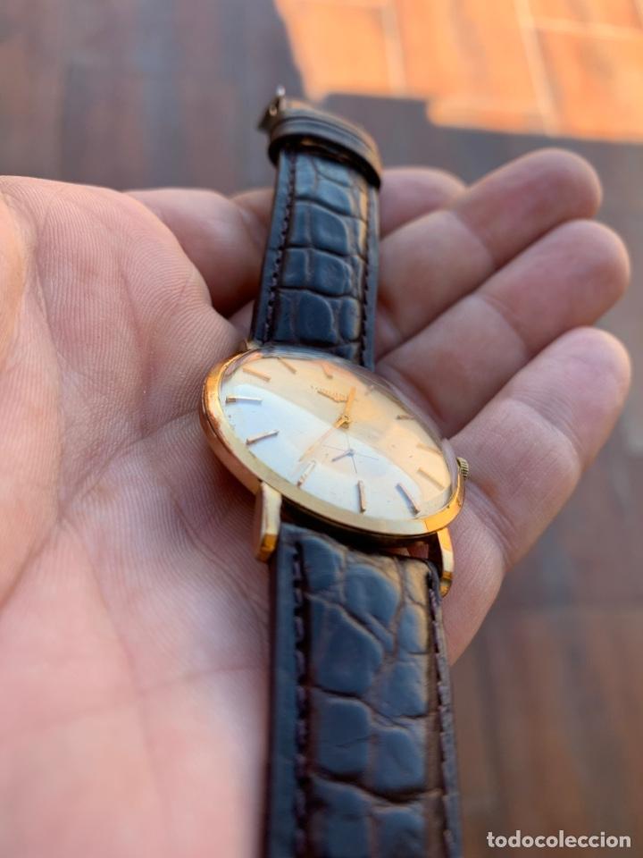 Relojes - Longines: Longines vintage 1965 cuerda manual oro para hombre funcionando - Foto 9 - 274125028