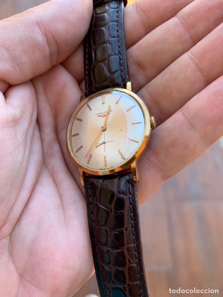 Relojes - Longines: Longines vintage 1965 cuerda manual oro para hombre funcionando - Foto 10 - 274125028