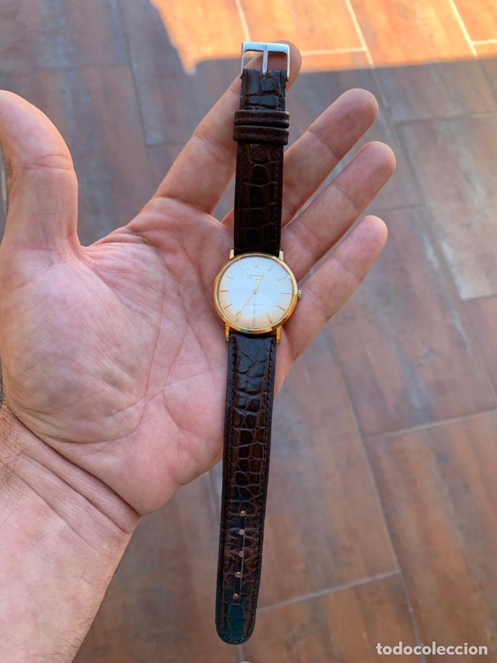 Relojes - Longines: Longines vintage 1965 cuerda manual oro para hombre funcionando - Foto 11 - 274125028