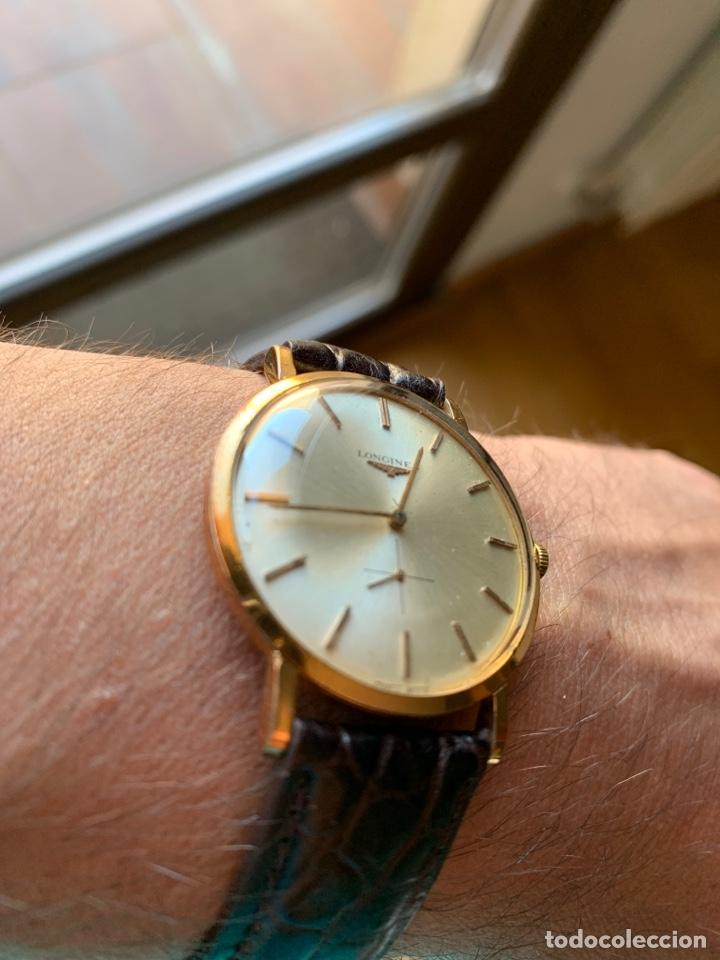 Relojes - Longines: Longines vintage 1965 cuerda manual oro para hombre funcionando - Foto 5 - 274125028