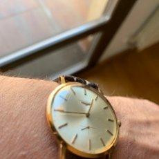 Relojes - Longines: LONGINES VINTAGE 1965 CUERDA MANUAL ORO PARA HOMBRE FUNCIONANDO. Lote 274125028