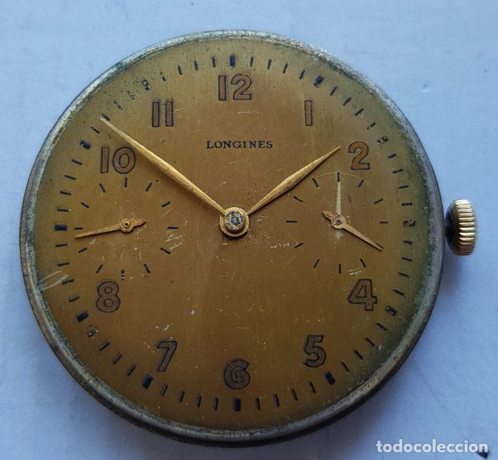 LONGINES CALIBRE 19.75 CALIBRE + ESFERA CORONA A LAS 3 43MM (Relojes - Relojes Actuales - Longines)