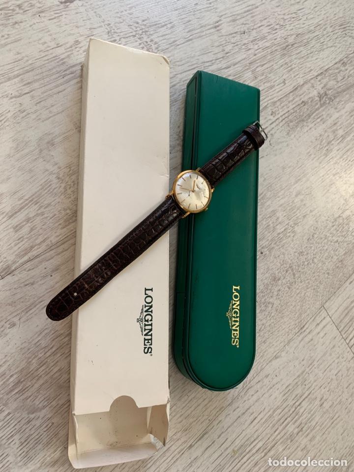 Relojes - Longines: Longines vintage 1965 cuerda manual oro para hombre funcionando - Foto 19 - 274125028