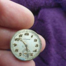 Relojes - Longines: ANTIGUA MAQUINARIA RELOJ LONGINES DE CUERDA. Lote 276909388