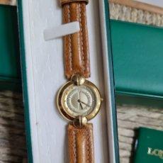 Relojes - Longines: RELOJ DE SEÑORA RODOLPHE BY LONGINES CON CORREA ORIGINAL. Lote 278299908