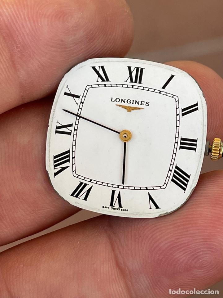 Relojes - Longines: Movimiento reloj Longines cal. L 847.4 carga manual funcionando - Foto 2 - 278417298