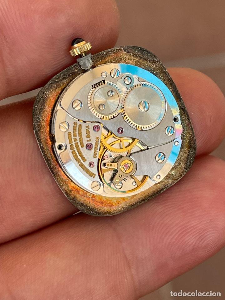 Relojes - Longines: Movimiento reloj Longines cal. L 847.4 carga manual funcionando - Foto 4 - 278417298