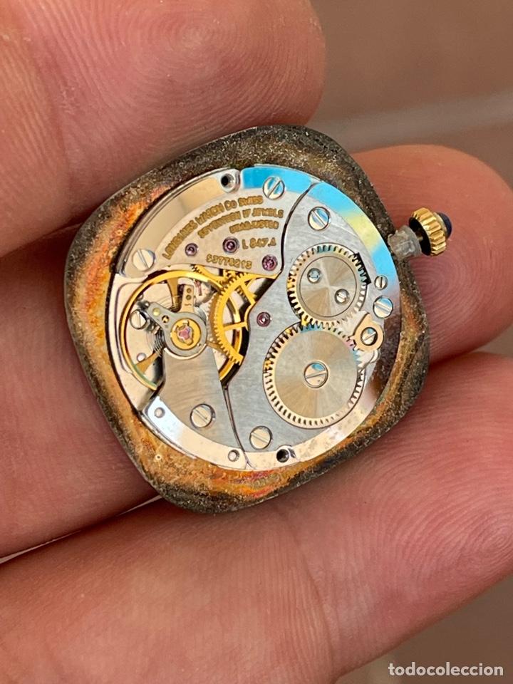 Relojes - Longines: Movimiento reloj Longines cal. L 847.4 carga manual funcionando - Foto 5 - 278417298