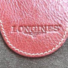 Relojes - Longines: LONGINES. ESTUCHE, NECESER VIAJE EN PIEL, PROMOCIONAL. SIN USAR, NUEVO.. Lote 284090608
