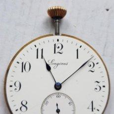 Relojes - Longines: LONGINES CALIBRE + ESFERA PORCELANA + TIJA + AGUJAS. Lote 285056803