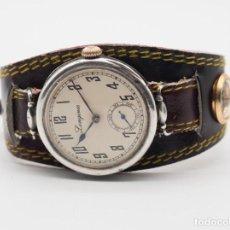 Relojes - Longines: RELOJ LONGINES 1917 MILITAR PLATA SOLIDA 925. Lote 287209243