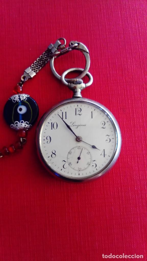 Relojes - Longines: Reloj de bolsillo Longines - Foto 2 - 288352073