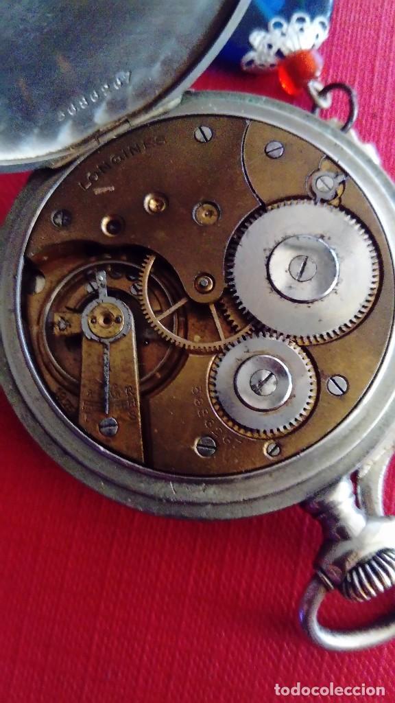 Relojes - Longines: Reloj de bolsillo Longines - Foto 8 - 288352073