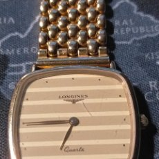 Relojes - Longines: AUTÉNTICO RELOJ LONGINES BAÑADO EN ORO. Lote 293802378
