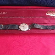 Relojes - Longines: RELOJ LONGINES RECORD CON EL ESTUCHE FUNCIONA .MIDE 32.7 MM DIAMETRO. Lote 294035713