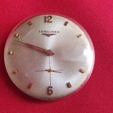 Relojes - Longines: MAQUINARIA DEL RELOJ LONGINES 17 JEWELS LE FALTA LA CORONA .MIDE 30.3 MM DIAMETRO. Lote 295465168