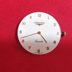 Relojes - Longines: MAQUINARIA DEL RELOJ LONGINES CUARZO SIN PROBAR.MIDE 26.9 MM DIAMETRO. Lote 295466368