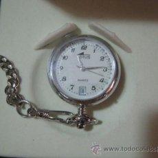 Relojes - Lotus: RELOJ LOTUS DE ENFERMERA / O. CON SEGUNDERO Y CALENDARIO. CON CADENA Y CHAPA PARA GRABAR NOMBRE E IM. Lote 23677571