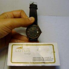 Relojes - Lotus: RELOJ DE PULSERA LOTUS. QUARTZ.. Lote 44243264